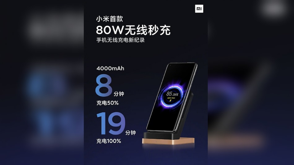 Xiaomi 80W Wireless Fast Charger