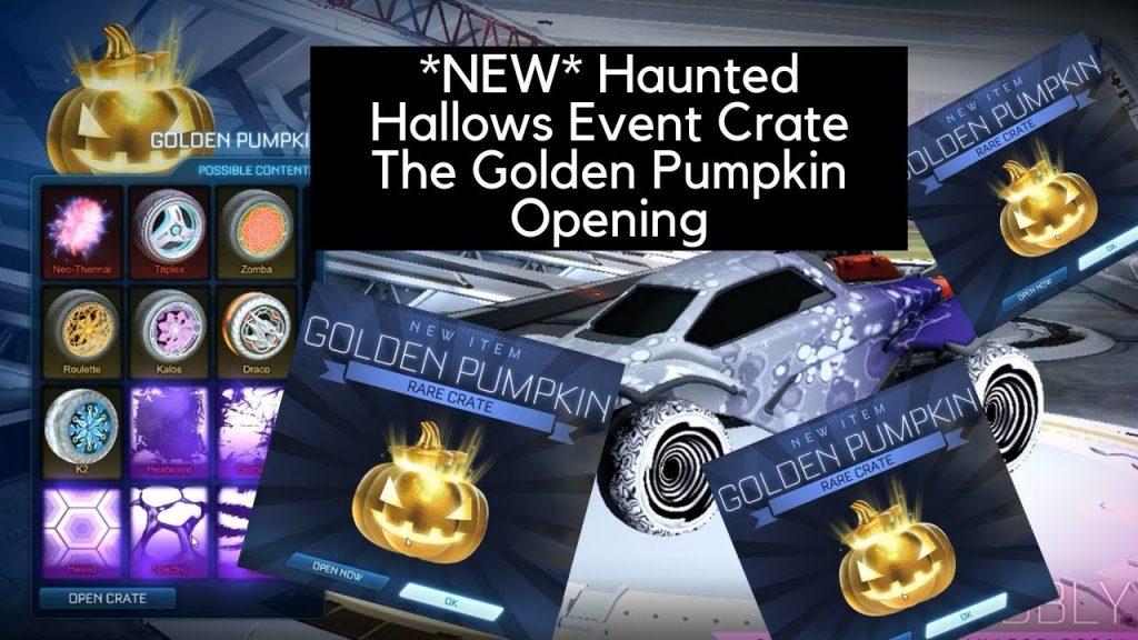 How To Get Golden Pumpkin In Rocket League Haunted Hallows Event