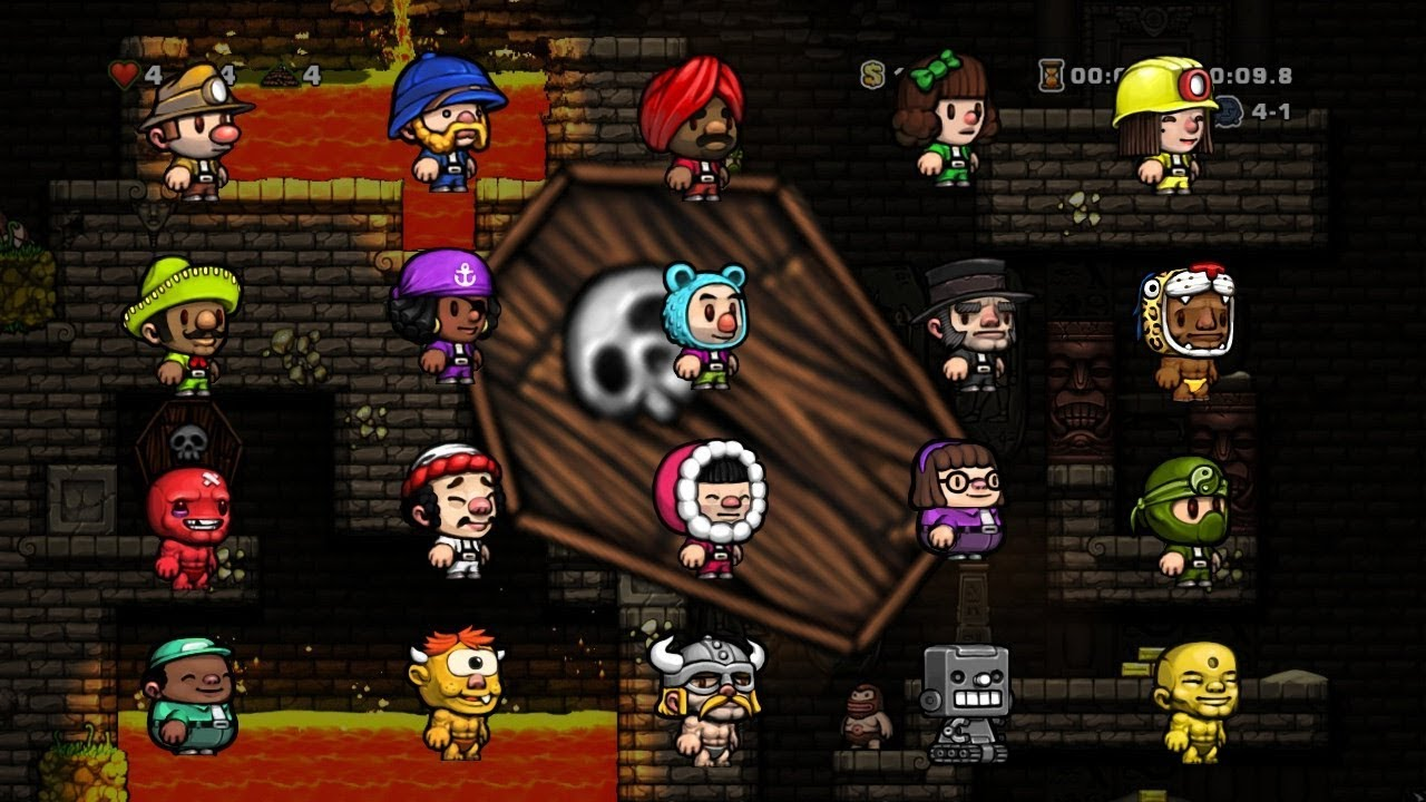 How To Unlock Characters In Spelunky 2