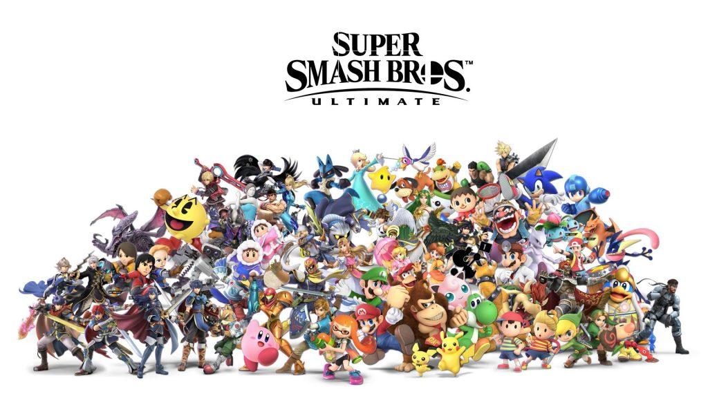 SSBU All Characters