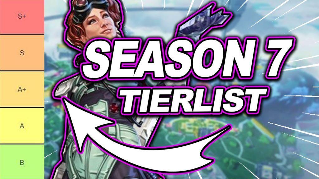 Apex Legends Season 7 Characters Tier List