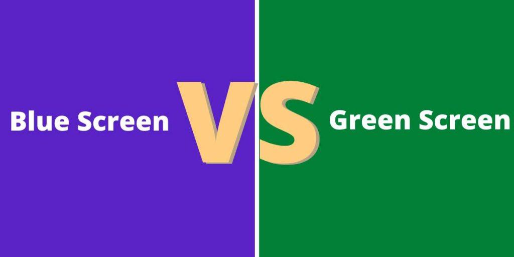 Blue Screen vs Green Screen