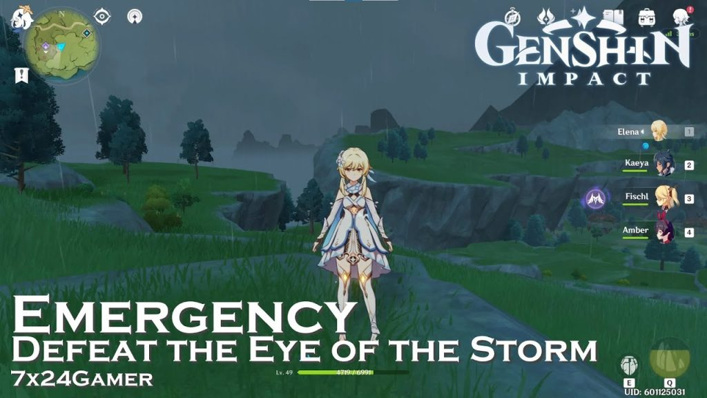 Defeat The Eye of the Storm