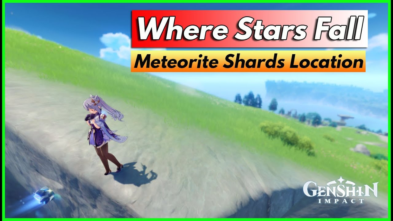 Genshin Impact Meteorite Shards Locations