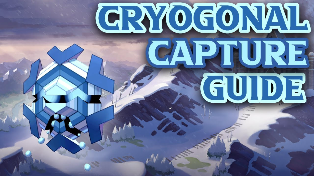 Pokemon GO Cryogonal Weaknesses