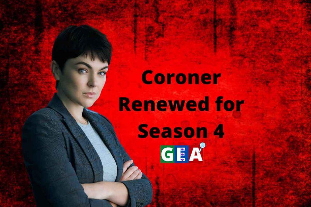 Coroner Renewed for Season 4