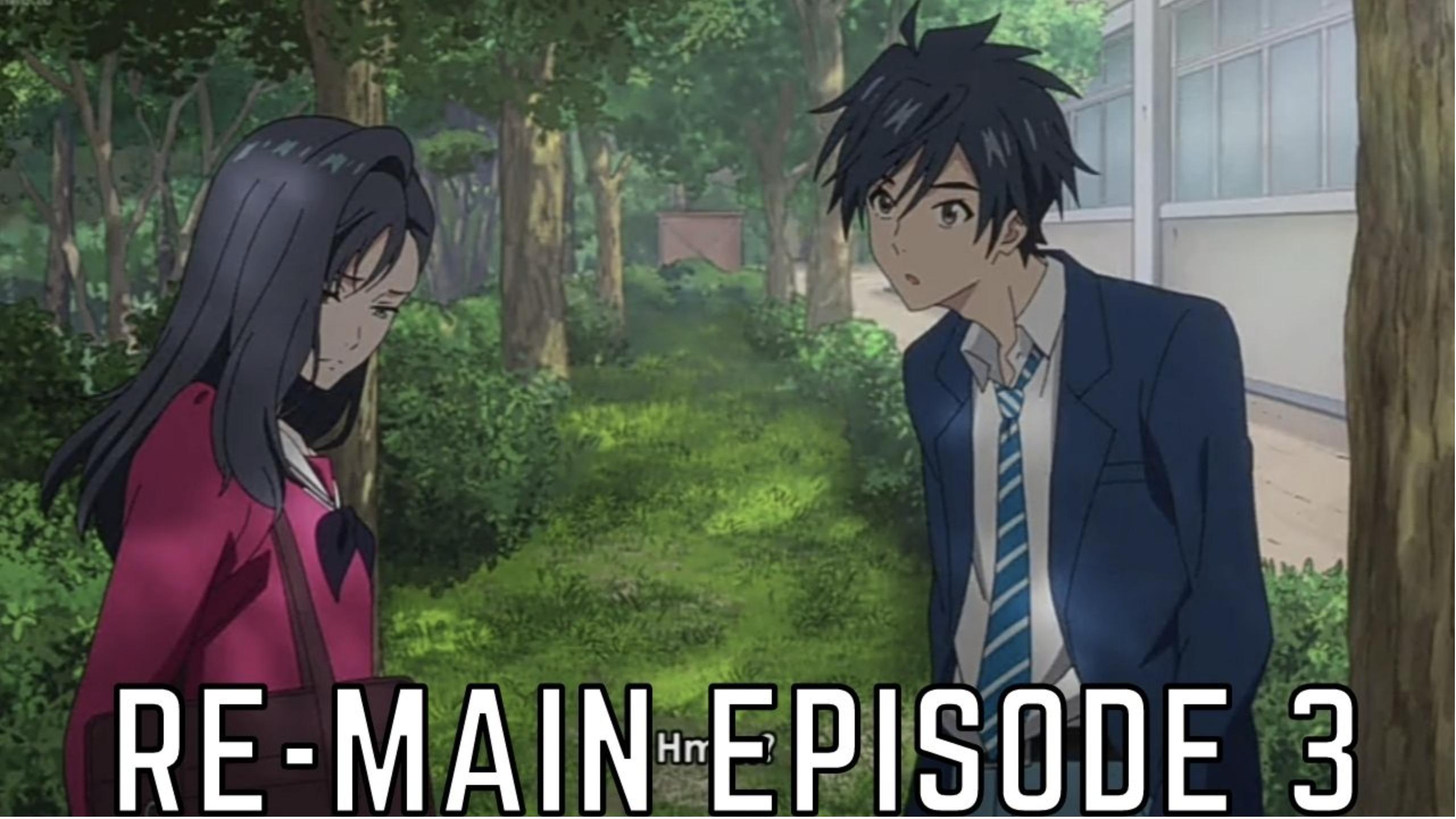 Re-Main Anime Episode 3