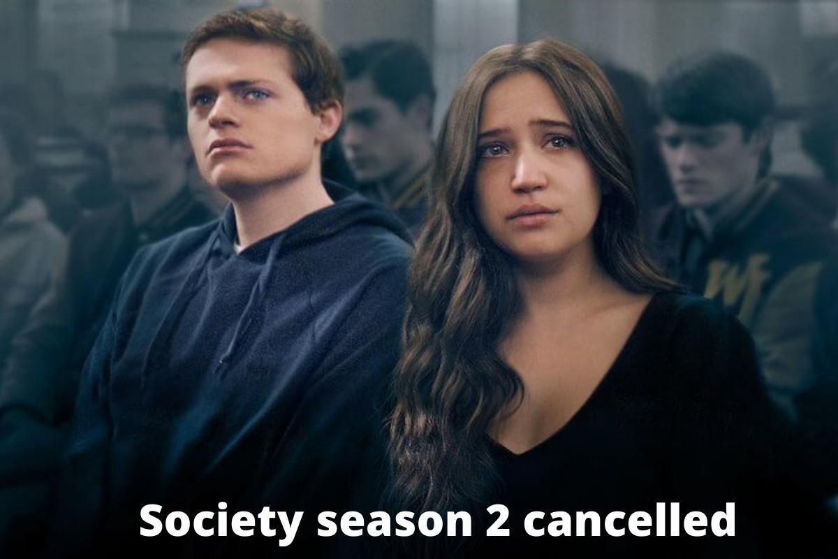 Society season 2 cancelled