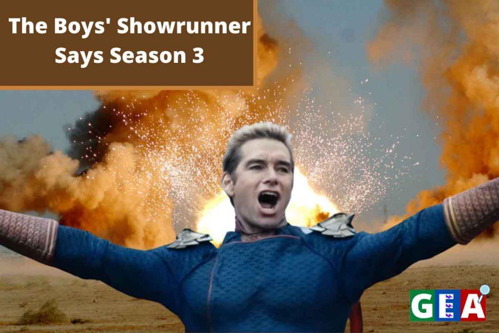 The Boys' Showrunner Says Season 3