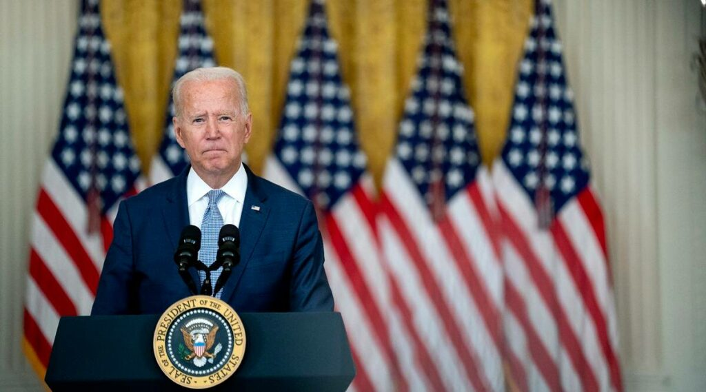 Afghanistan: Joe Biden
