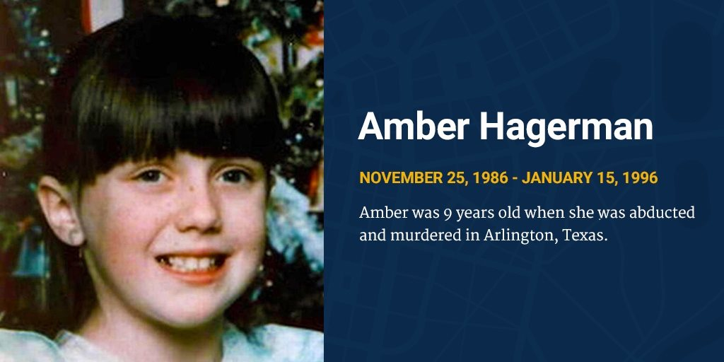 Unsolved 1996 Murder Of Amber Hagerman